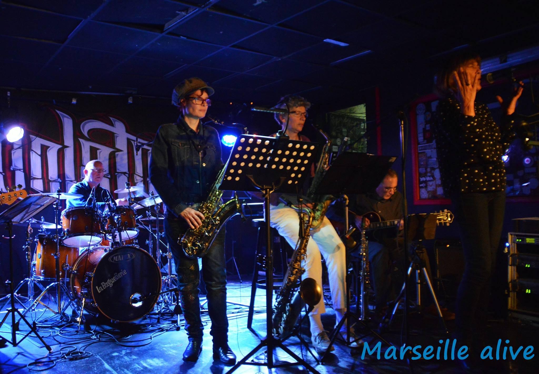 Le risin sun jazz est un groupe fond en 2009 par des anciens l ves de la classe de jazz de g rard sumian de la plaine cours julien marseille qui a